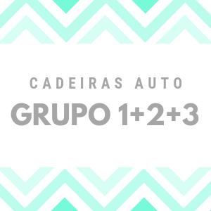 CADEIRAS GRP. 1+2+3 (61-135 CM)