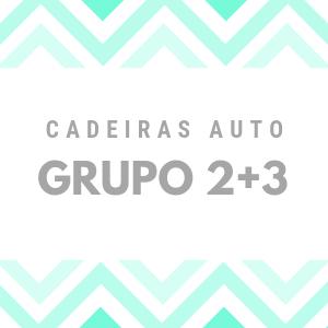 CADEIRAS GRP. 2+3 (100-135 CM)
